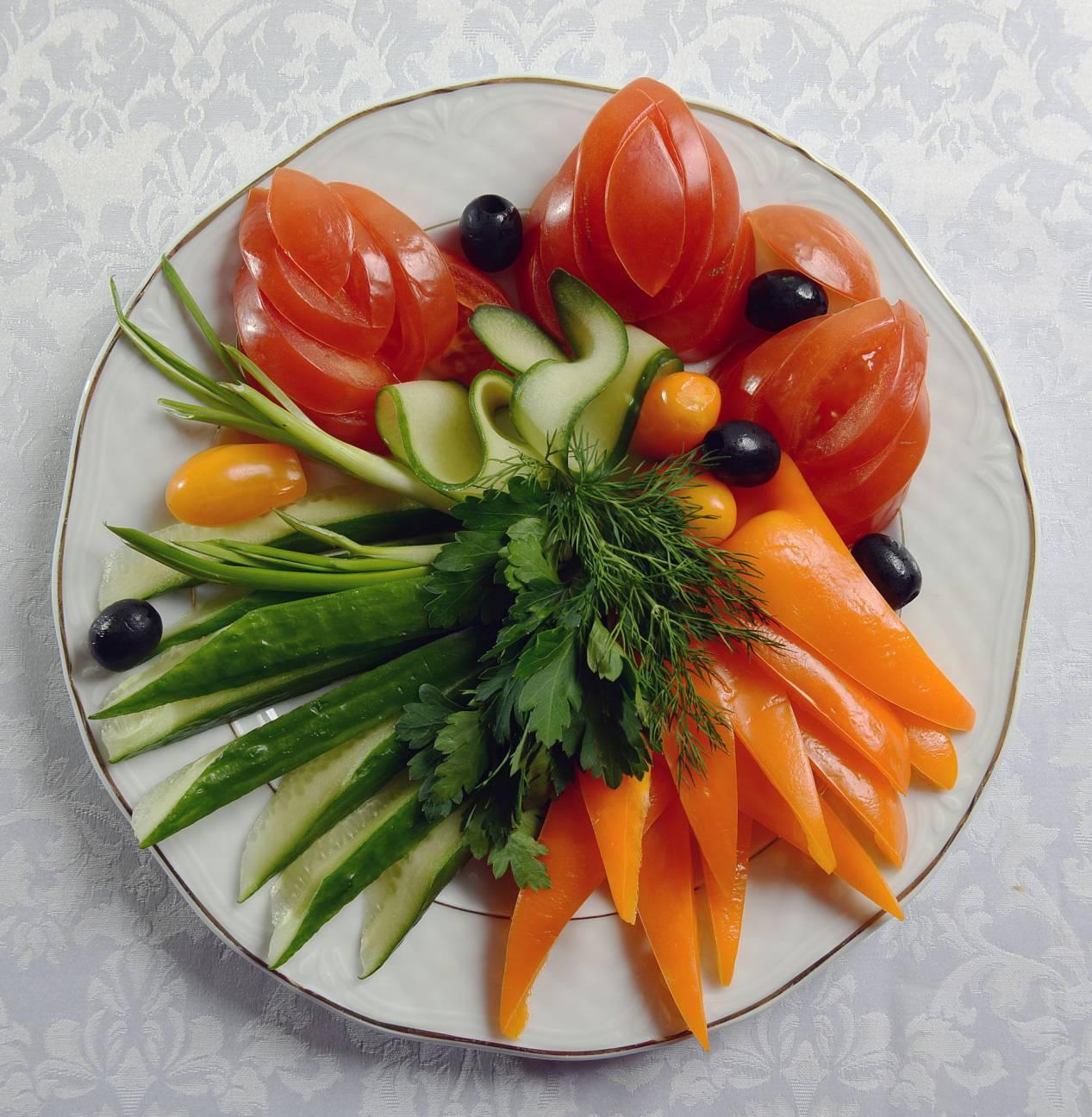 украшения на блюда из овощей с фото годности есть всех